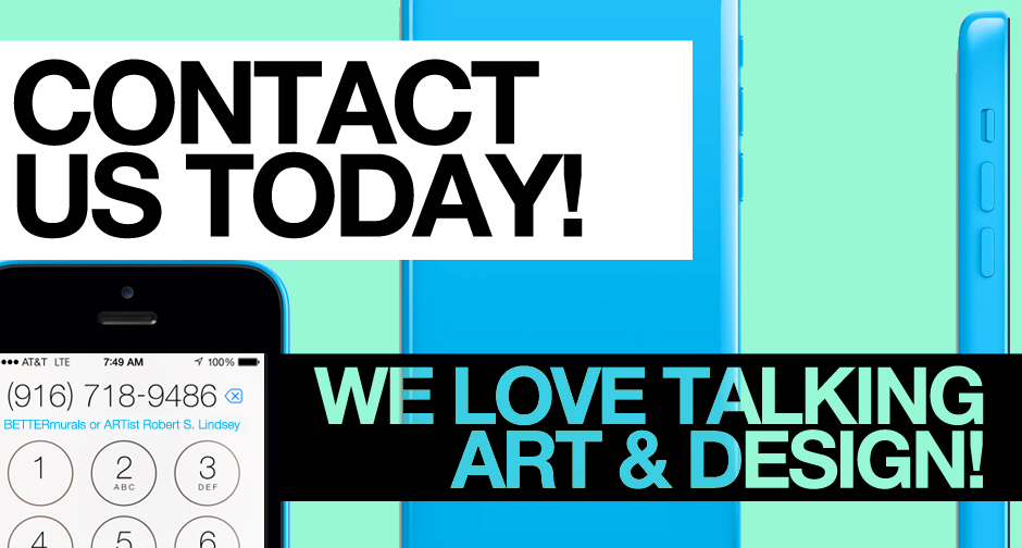 Contact us today to talk art and design
